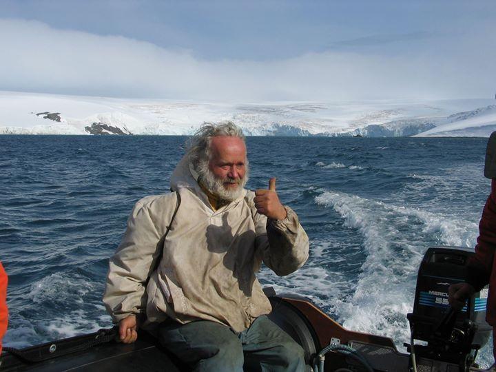 Jaroslav Pavlíček na Antarktidě